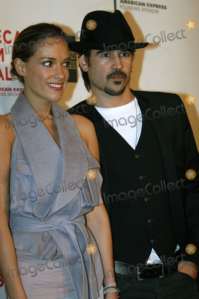 Alicja Bachleda Photo - Actress Alicja Bachleda (L) and actor Colin Farrell arriving at the premiere of Ondine during the 2010 Tribeca Film Festival at the Tribeca Performing Arts Center on April 28 2010 in New York City