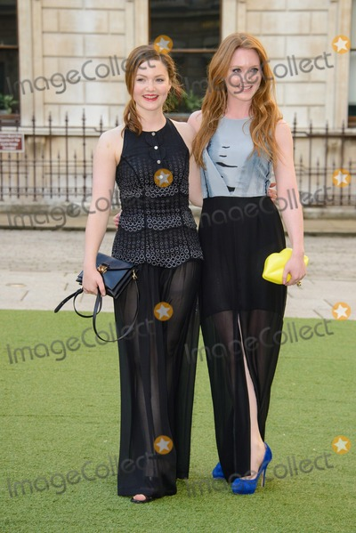 Holiday Grainger Photo - June 4 2014 LondonHoliday Grainger and Olivia Hallinan (R) at the The Royal Academy Of Arts Summer Exhibition on June 4 2014 in London