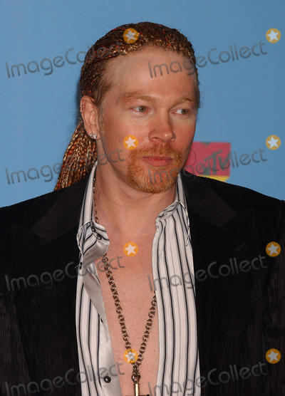 AXEL ROSE Photo - Press Room arrivals for the 2006 MTV Video Music awards 2006 at the Radio City Music Hall