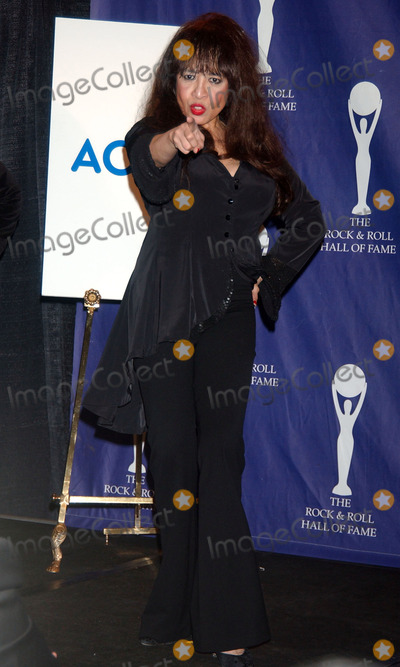 The Ronettes Photo - Honoree Veronica Spector of The Ronettes in the press room at the 22nd annual Rock And Roll Hall Of Fame Induction Ceremony at the Waldorf Astoria Hotel
