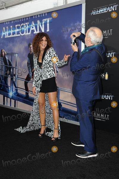 Arthur Elgort Photo - March 14 2016 New York CityNadia Hilker and  Arthur Elgort attendingThe Divergent Series Allegiant New York Premiere at AMC Loews Lincoln Square 13 theater on March 14 2016 in New York CityCredit Kristin CallahanACE PicturesTel (646) 769 0430
