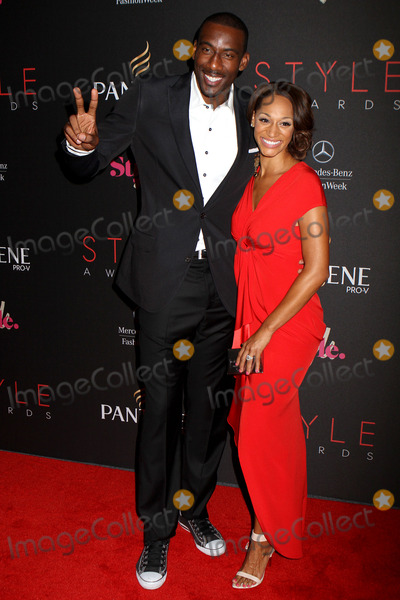 Amare Stoudemire Photo - September 5 2012 New York City NYAmare Stoudemire and Alexis Welch  arriving at the 9th Annual Style Awards at Lincoln Center on September 5 2012 in New York City