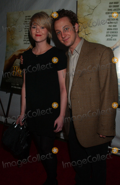 AARON AUGENBLICK Photo - Animation director Aaron Augenblick and guest attending the premiere of The Ten at the DGA Theatre in midtown Manhattan