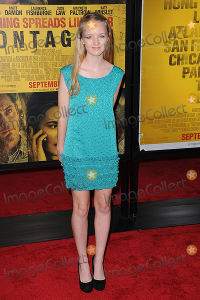 Anna Jacoby-Heron Photo - Anna Jacoby-Heron attends the Contagion premiere at the Rose Theater Jazz at Lincoln Center on September 7 2011 in New York City