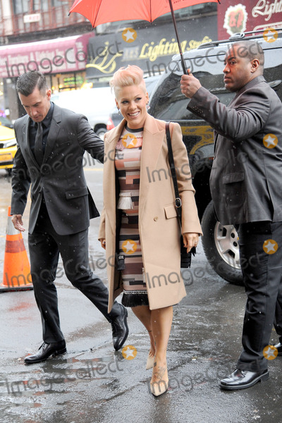 Alecia Beth Moore Photo - December 10 2013 New York CityCarey Hart and Pink attending the Billboard Women in Music luncheon at Capitale in New York City