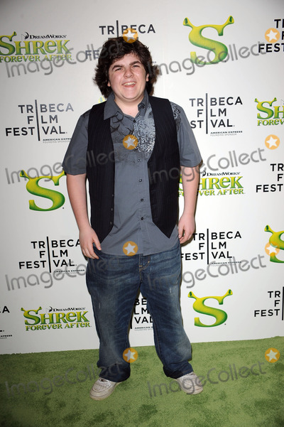 Josh Flitter Photo - Josh Flitter arriving at the Premiere of Shrek Forever After as part of the Tribeca Film Festival at the Ziegfeld Theatre on April 21 2010 in New York City