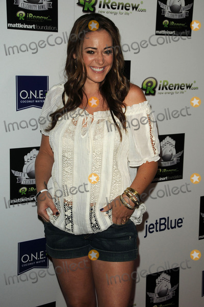 Kennedy Photo - Krisily Kennedy at the Matt Leinart Foundations Fifth Annual Celebrity Bowl at Lucky Strikes on July 14 2011 in Hollywood California