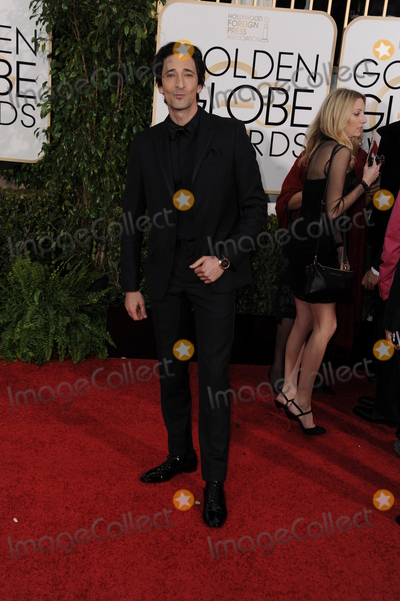 ADRIAN BRODY Photo - January 11 2015 LAAdrian Brody arriving at the 72nd Annual Golden Globe Awards at The Beverly Hilton Hotel on January 11 2015 in Beverly Hills CaliforniaBy Line Peter WestACE PicturesACE Pictures Inctel 646 769 0430