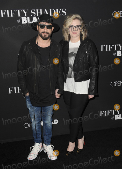 AJ MCLEAN Photo - January 26 2016 LAAJ McLean arriving at the premiere of Fifty Shades Of Black at the Regal Cinemas LA Live on January 26 2016 in Los Angeles CaliforniaBy Line Peter WestACE PicturesACE Pictures Inctel 646 769 0430