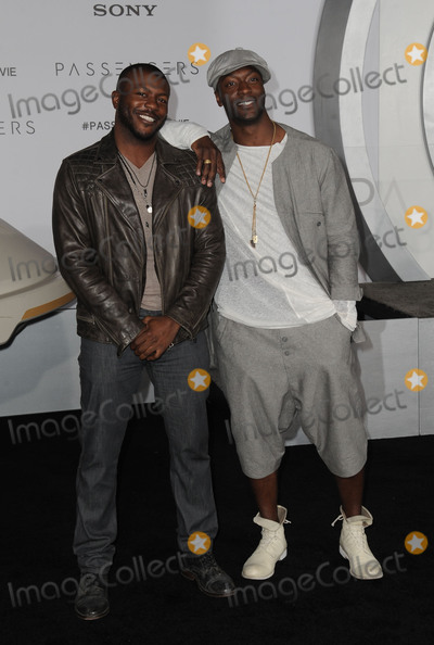 Aldis Hodges Photo - December 14 2016 LAAldis Hodge and Edwin Hodge arriving at the premiere of Passengers at the Regency Village Theatre on December 14 2016 in Westwood CaliforniaBy Line Peter WestACE PicturesACE Pictures IncTel 6467670430