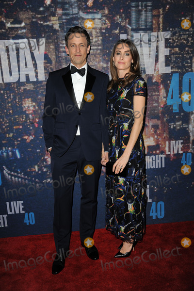Alexi Ashe Photo - February 15 2015 New York CitySeth Meyers (L) and Alexi Ashe walking the red carpet at the SNL 40th Anniversary Special at 30 Rockefeller Plaza on February 15 2015 in New York CityPlease byline Kristin CallahanAcePicturesACEPIXSCOMTel (646) 769 0430