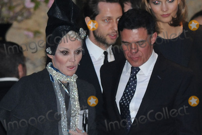 Daphne Guinness Photo - May 2 2014 New York CityDaphne Guinness attending a memorial service for L Wren Scott at St Bartholomews Church in New York City on May 2 2014