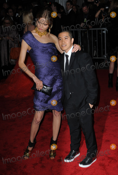 Thakoon Panichgul Photo - (L-R) Magdalena Frackowiak and designer Thakoon Panichgul arriving at The Model as Muse Embodying Fashion Costume Institute Gala at The Metropolitan Museum of Art on May 4 2009 in New York City