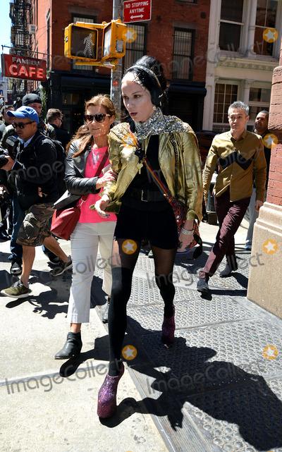 Daphne Guinness Photo - May 5 2014 New York CityDaphne Guinness leaves a Soho hotel on May 5 2014 in New York City