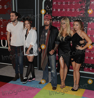 Cyrus Family Photo - August 30 2015 LAThe Cyrus Family arriving at the 2015 MTV Video Music Awards at the Microsoft Theater on August 30 2015 in Los Angeles CaliforniaBy Line Peter WestACE PicturesACE Pictures Inctel 646 769 0430
