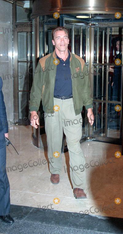 ARNOLD SCHWARZENEGER Photo - NEW YORK CIRCA 1995 ARNOLD SCHWARZENEGER