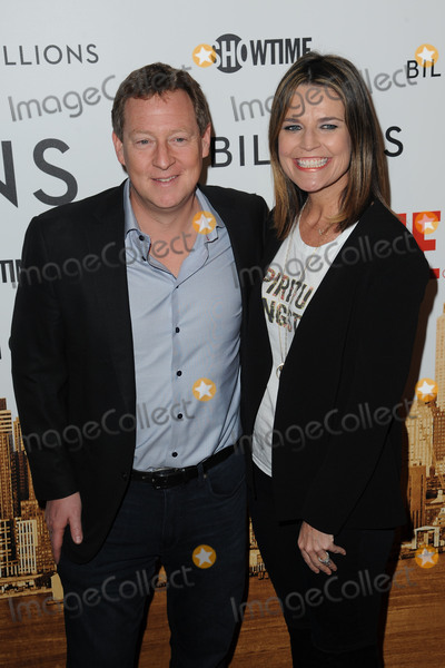 Savannah Guthrie Photo - January 7 2016 New York CityMichael Feldman and Savannah Guthrie attending the Showtime series premiere of Billions at The New York Museum Of Modern Art on January 7 2016 in New York CityCredit Kristin CallahanACE PicturesTel (646) 769 0430