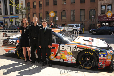 JOSHUA HOBSON Photo - L-R) Racer Annabeth Barnes racer Brandon Warren and  racer Joshua Hobson at the premiere of Racing Dreams during the 2009 Tribeca Film Festival at SVA Theater on April 25 2009 in New York City