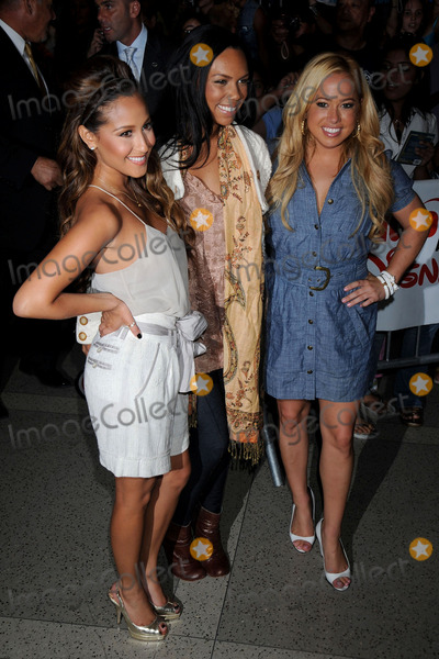 The Cheetah Girls Photo - Singers Adrienne Bailon Kiely Williams and Sabrina Bryan of the Cheetah Girls attend an instore signing for their One World album at Virgin Megastore Times Square on August 19 2008 in New York City