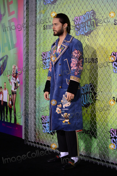 Jared Leto Photo - August 1 2016  New York CityJared Leto attending the world premiere of Warner Bros Pictures and Atlas Entertainments Suicide Squad at the Beacon Theatre on August 1 2016 in New York CityCredit Kristin CallahanACE PicturesTel 646 769 0430