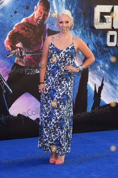 Amelia Lilly Photo - Amelia Lilly arrives for the Guardians of the Galaxy premiere at the Empire Leicester Square London 24072014 Picture by Steve Vas  Featureflash