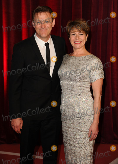 Chris Walker Photo - Chris Walker and Jan Pearson arriving for the British Soap Awards 2013 at Media City Manchester 18052013 Picture by Steve Vas  Featureflash