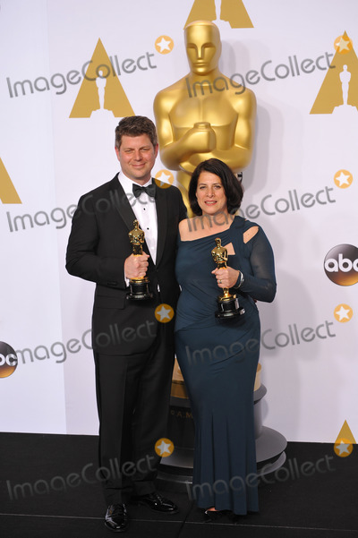 Adam Stockhausen Photo - Adam Stockhausen  Anna Pinnock at the 87th Annual Academy Awards at the Dolby Theatre HollywoodFebruary 22 2015  Los Angeles CAPicture Paul Smith  Featureflash