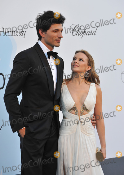 Andres Velencoso Photo - Kylie Minogue  Andres Velencoso at amfARs 20th Cinema Against AIDS Gala at the Hotel du Cap dAntibes FranceMay 23 2013  Antibes FrancePicture Paul Smith  Featureflash