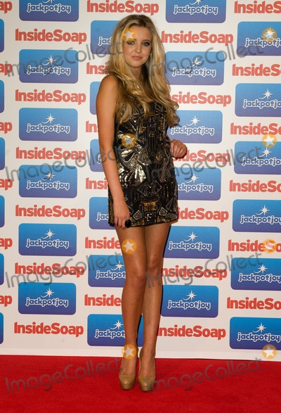 Alice Barlow Photo - Alice Barlow arriving for the 2011 Inside Soap Awards held at Gilgamesh in Camden London  26092011 Picture by Simon Burchell  Featureflash