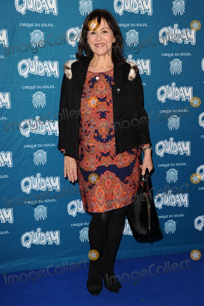 Arlene Phillips Photo - Arlene Phillips arrives for the Cirque du Soleil Quidam VIP press night at the Royal Albert Hall Kensington London 07012014 Picture by Steve Vas  Featureflash
