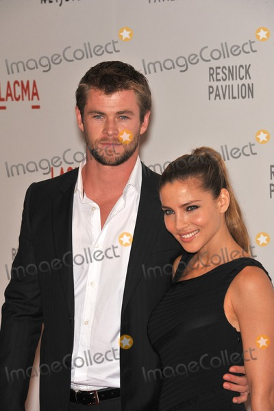 Elsa Petaky Photo - Chris Hemsworth  Elsa Petaky at a benefit gala at the Los Angeles County Museum of Art (LACMA) to celebrate the official unmasking of the museums newest building The Lynda and Stewart Resnick Exhibition PavilionSeptember 25 2010  Los Angeles CAPicture Paul Smith  Featureflash