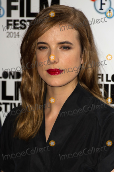 Agyness Deyn Photo - Agyness Deyn attending a screening of Electricity during the 58th BFI London Film Festival at Vue West End London 14102014 Picture by Alexandra Glen  Featureflash