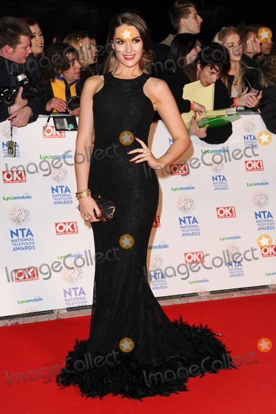 Anna Passey Photo - Anna Passeyarrives for the National TV Awards 2014 at the O2 arena Greenwich London22012014 Picture by Steve Vas