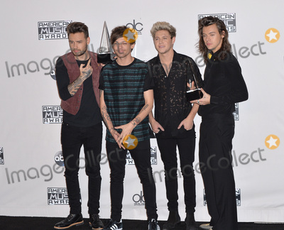 Liam Payne Photo - One Direction - Liam Payne Louis Tomlinson Niall Horan  Harry Styles - at the 2015 American Music Awards at the Microsoft Theatre LA LiveNovember 22 2015  Los Angeles CAPicture Paul Smith  Featureflash