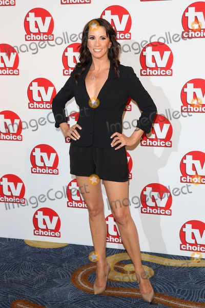 Andrea Mclean Photo - Andrea McLean at the TV Choice Awards 2014 held at the Park Lane Hilton London 08092014 Picture by James Smith  Featureflash