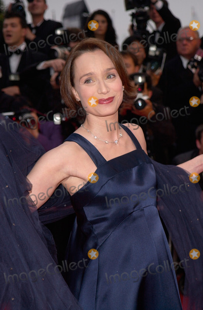 Kristin Scott Thomas Photo - 13MAY2000 Actress KRISTIN SCOTT THOMAS at the premiere of O Brother Where Art Thou in competition at the Cannes Film Festival Paul Smith  Featureflash