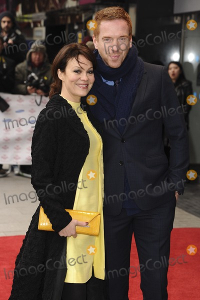 Damien Lewis Photo - Helen McRory and Damien Lewis arriving for the The Princes Trust Celebrate Success Awards 2013 at the Odeon Leicester Square London 26032013 Picture by Steve Vas  Featureflash