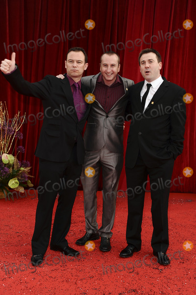 Andrew Lancel Photo - Andrew Lancel Andrew Whyment and Graeme Hawley arrive at the British Soap awards 2011 held at the Granada Studios Manchester14052011  Picture by Steve VasFeatureflash
