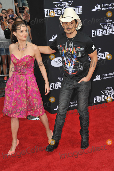 Kimberly Williams Photo - Brad Paisley  wife Kimberly Williams-Paisley at the world premiere of Disneys Planes Fire  Rescue at the El Capitan Theatre HollywoodJuly 15 2014  Los Angeles CAPicture Paul Smith  Featureflash