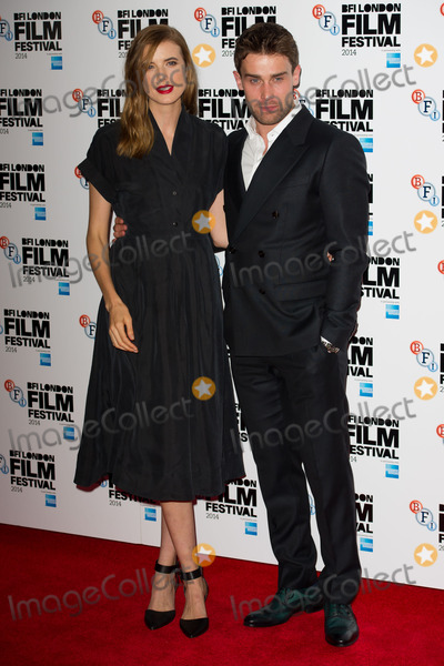 Agyness Deyn Photo - Agyness Deyn and Christian Cooke attends a screening of Electricity during the 58th BFI London Film Festival at Vue West End London 14102014 Picture by Alexandra Glen  Featureflash