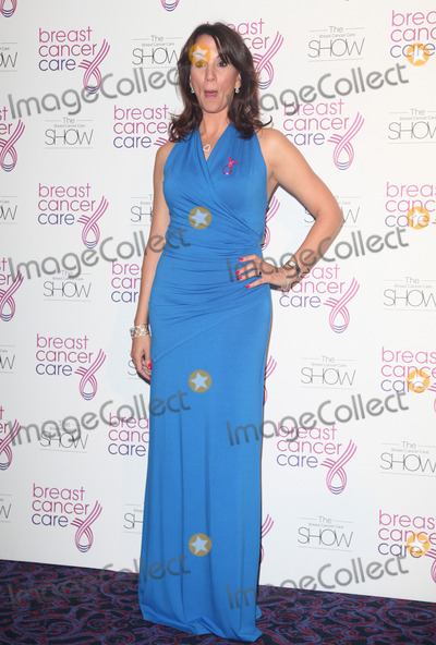 Andrea Mclean Photo - Andrea McLean arriving for the Breast Cancer Care Fashion Show Grosvenor House Hotel London 02102012 Picture by Alexandra Glen  Featureflash