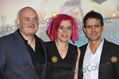 Andy Wachowski Photo - Writerdirectors Andy Wachowski (left) Lana Wachowski  Tom Tykwer at the Los Angeles premiere of his new movie Cloud Atlas at Graumans Chinese Theatre HollywoodOctober 24 2012  Los Angeles CAPicture Paul Smith  Featureflash