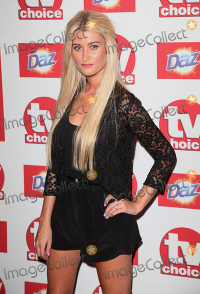 Charley Webb Photo - Charley Webb arriving for the 2012 TVChoice Awards at the Dorchester Hotel London 10092012 Picture by  Alexandra Glen  Featureflash