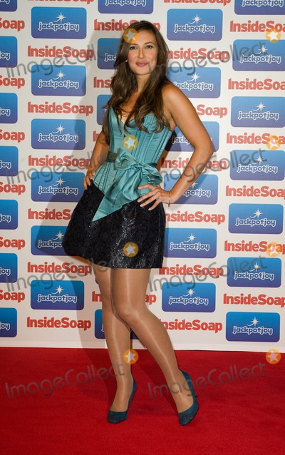 Alexis Peterman Photo - Alexis Peterman arriving for the 2011 Inside Soap Awards held at Gilgamesh in Camden London  26092011 Picture by Simon Burchell  Featureflash