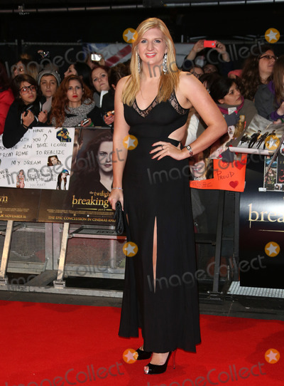 Rebecca Adlington Photo - Rebecca Adlington arriving for the The Twilight Saga Breaking Dawn Part 2 premiere at the Odeon Leicester Square London 14112012 Picture by Henry Harris  Featureflash