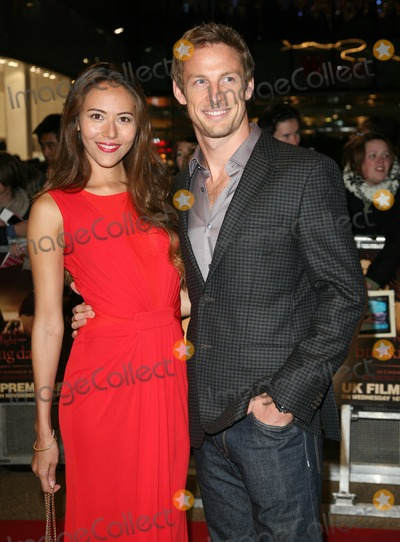Jessica Michibata Photo - Jenson Button and Jessica Michibata arriving for the UK premiere of The Twilight Saga Breaking Dawn Part 1 at Westfield Stratford City London 17112011 Picture by Alexandra Glen  Featureflash
