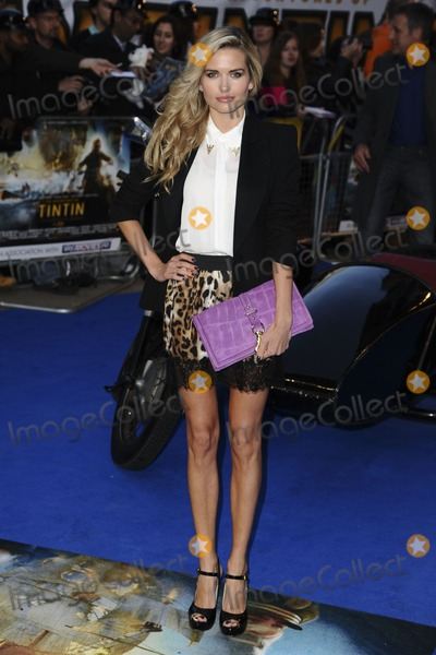 Agne Motiejunaite Photo - Agne Motiejunaite arrives for the Tintin premiere at the Odeon West End London 23102011 Picture by Steve Vas  Featureflash