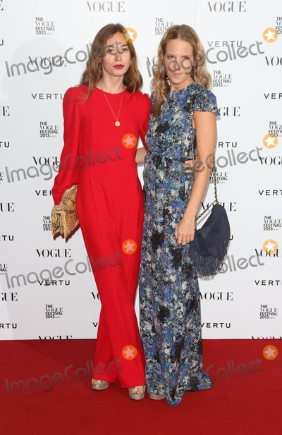 Alice Naylor Photo - Anouska Beckwith Alice Naylor Leyland at the Vogue Festival party 2013 held at the Southbank Centre London  27042013 Picture by Henry Harris  Featureflash