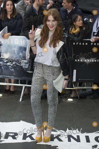 Angela Scanlan Photo - Angela Scanlan arriving for European premiere of The Dark Knight Rises at the Odeon Leicester Square London 18072012 Picture by Simon Burchell  Featureflash