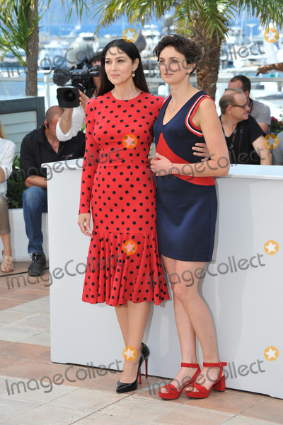 Alice Rohrwacher Photo - Monica Bellucci  Alice Rohrwacher at the photocall for their movie The Wonders at the 67th Festival de CannesMay 18 2014  Cannes FrancePicture Paul Smith  Featureflash